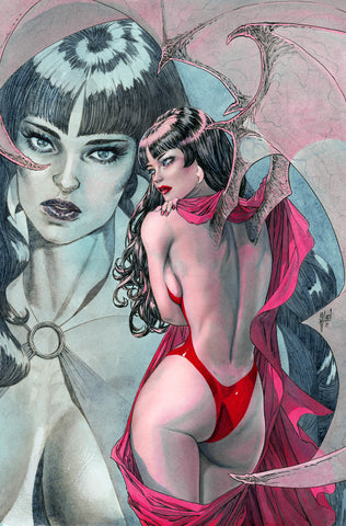 "Guillem March Deluxe Vampirella Glossed 16x20"" Canvas Limited to 3"