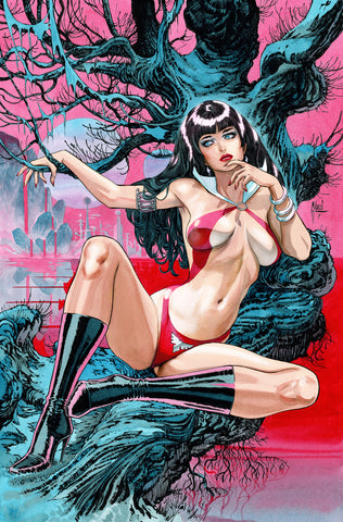 Guillem March Original Art Vampirella #2 Cover