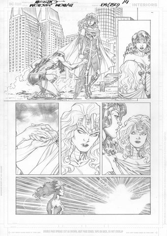 Jesus Merino Original Art Wonder Woman #750 Page 14