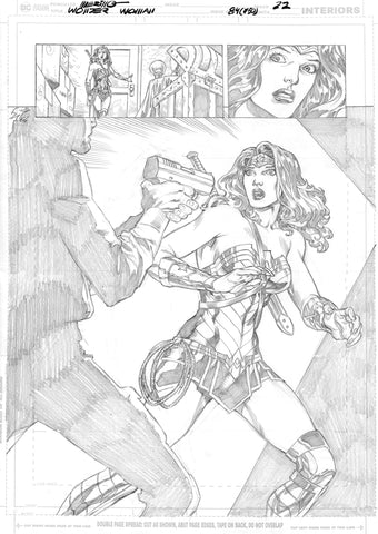 Jesus Merino Original Art Wonder Woman #750 Page 22