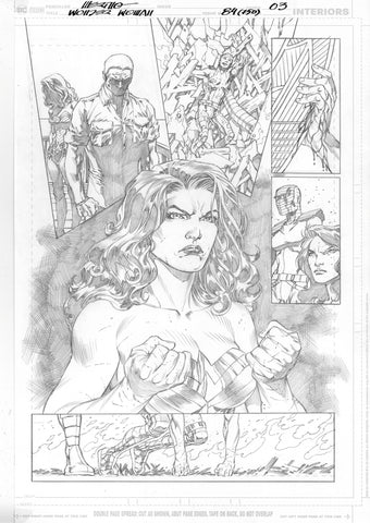 Jesus Merino Original Art Wonder Woman #750 Page 3