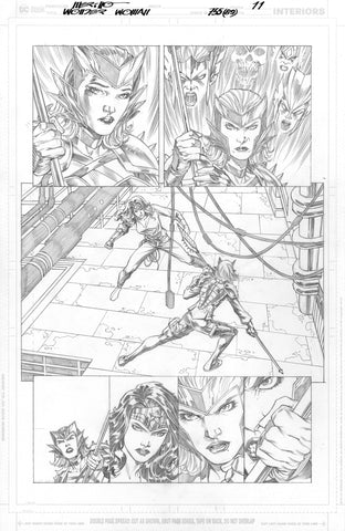 Jesus Merino Original Art Wonder Woman #755 Page 11
