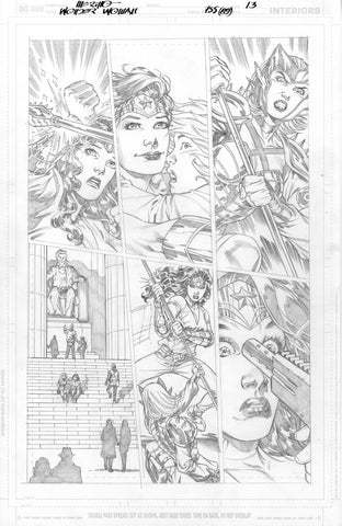 Jesus Merino Original Art Wonder Woman #755 Page 13