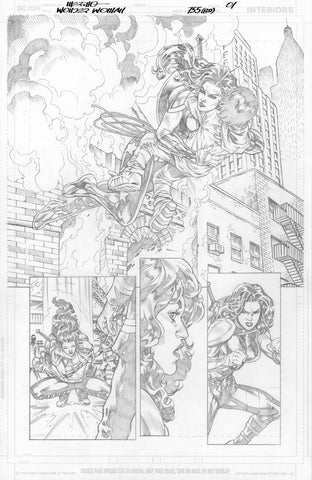 Jesus Merino Original Art Wonder Woman #755 Page 1