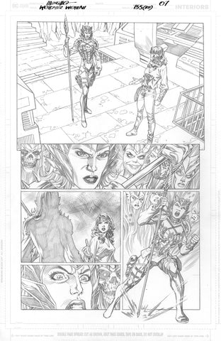 Jesus Merino Original Art Wonder Woman #755 Page 7