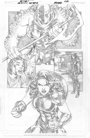 Jesus Merino Original Art Wonder Woman #755 Page 9
