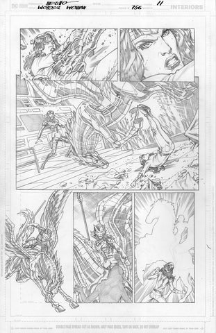 Jesus Merino Original Art Wonder Woman #756 Page 11
