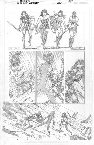 Jesus Merino Original Art Wonder Woman #757 Page 7