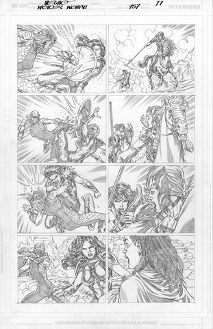 Jesus Merino Original Art Wonder Woman #757 Page 11
