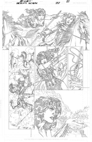 Jesus Merino Original Art Wonder Woman #757 Page 12