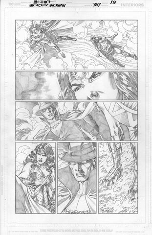 Jesus Merino Original Art Wonder Woman #757 Page 19