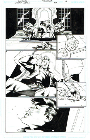 Rafa Sandoval Original Art Wonder Woman #767 Page 10