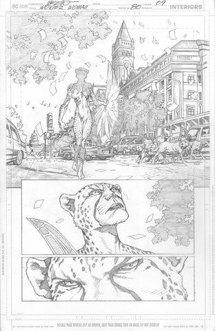 Jesus Merino Original Art Wonder Woman #80 Page 9