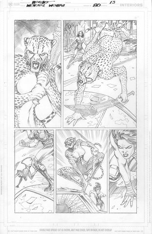 Jesus Merino Original Art Wonder Woman #80 Page 13