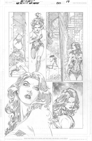 Jesus Merino Original Art Wonder Woman #80 Page 14