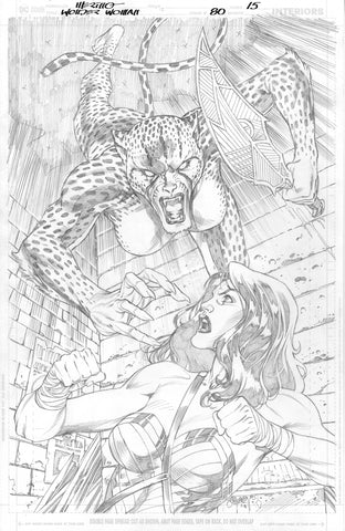 Jesus Merino Original Art Wonder Woman #80 Page 15