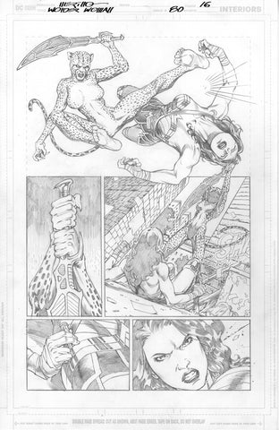 Jesus Merino Original Art Wonder Woman #80 Page 16