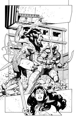 Rafa Sandoval Original Art Wonder Woman #768 Page 11