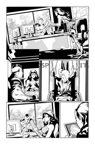 Rafa Sandoval Original Art Wonder Woman #768 Page 5