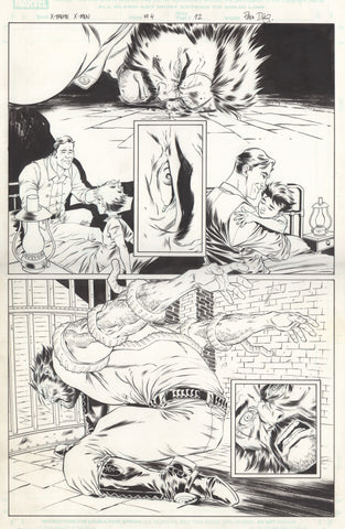 Paco Diaz Original Art X-Treme X-Men #4 P12