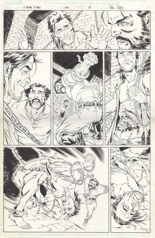 Paco Diaz Original Art X-Treme X-Men #4 P13
