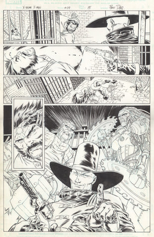 Paco Diaz Original Art X-Treme X-Men #4 P15