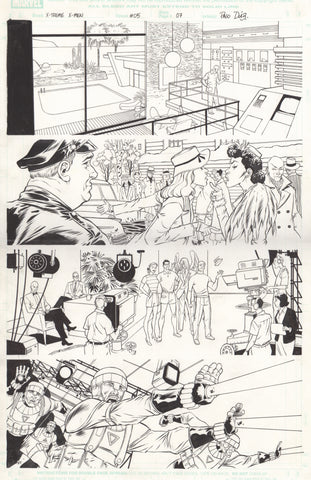 Paco Diaz Original Art X-Treme X-Men #5 P7