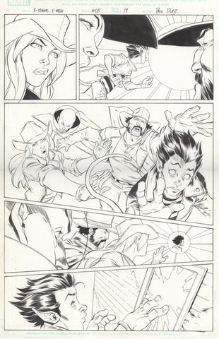 Paco Diaz Original Art X-Treme X-Men #5 P19