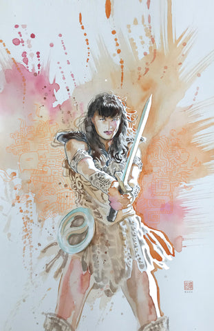 David Mack Original Art Xena: Warrior Princess #3 Cover