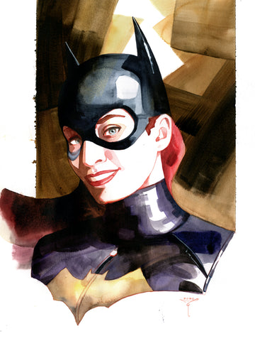 Clara Tessier Original Art Batgirl 'Batman Heroes & Villains Collection' Illustration
