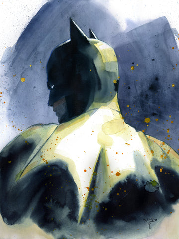 Clara Tessier Original Art Batman 'Batman Heroes & Villains Collection' Illustration