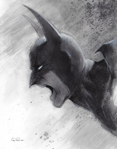 Casey Parsons Original Art Batman 11x14 Illustration