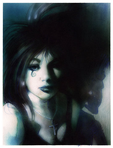 Andrea Cucchi Original Art Death Sandman Collection