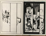 Javier Fernandez Original Art Dark Multiverse: Batman Knightfall #2 Page 7
