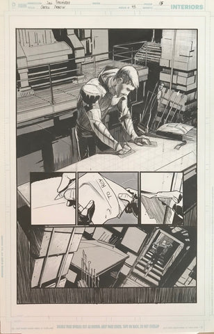 Javier Fernandez Original Art Green Arrow #43 Page 15