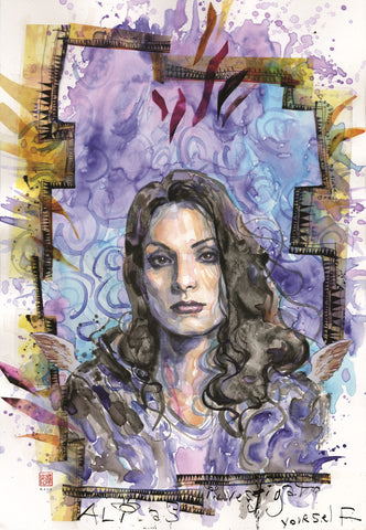 David Mack Original Art Jessica Jones #11 Cover