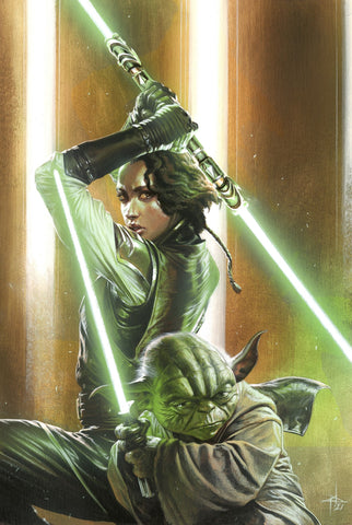 Star Wars: The High Republic #1 Panini Italy Exclusive Virgin Cover by Gabriele Dell'Otto