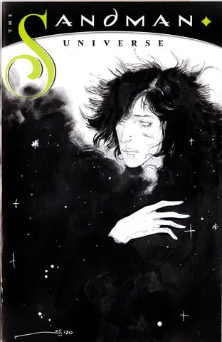 Helena Masellis Original Art Sandman Blank Cover Illustration