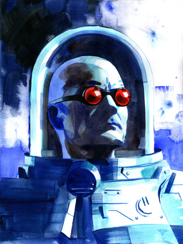 Clara Tessier Original Art Mr Freeze 'Batman Heroes & Villains Collection' Illustration