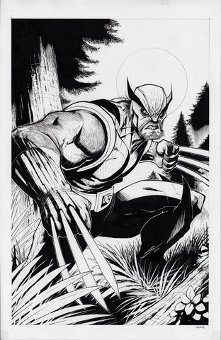Gerardo Sandoval Original Art Ruins of Ravencroft: Sabertooth #1 Cover