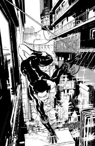 Javier Fernandez Original Art Nightwing Unused Cover