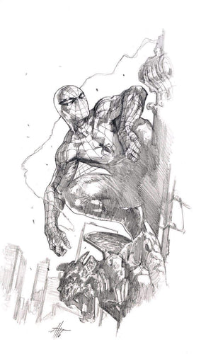Gabriele Dell'Otto Original Art Spider-Man Cover
