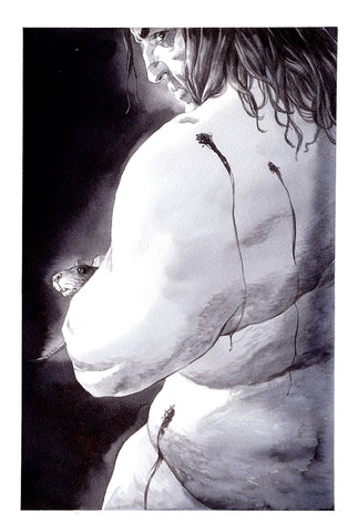 Guillaume Martinez Original Art Despair Sandman Collection
