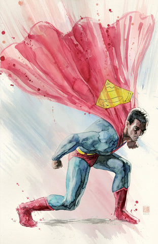 David Mack Original Art Action Comics #1002 Cover