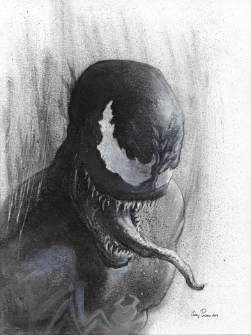 Casey Parsons Original Art Venom Illustration