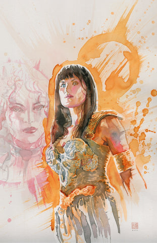 David Mack Original Art Xena: Warrior Princess #2 Cover