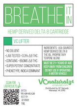 Load image into Gallery viewer, VC Naturalz - Breathe It in - D8 Cartridge