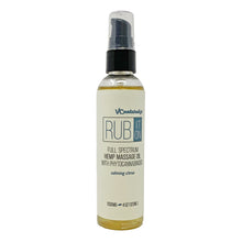 Load image into Gallery viewer, VC Naturalz - Rub It On - Full Spectrum Massage Oil - Calming Citrus