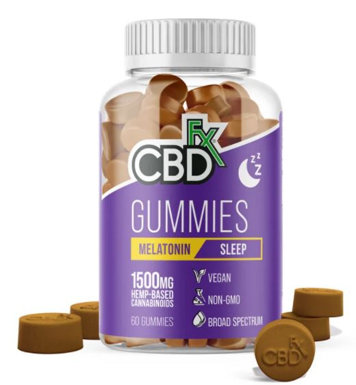 CBDfx Gummies with Melatonin 1500mg