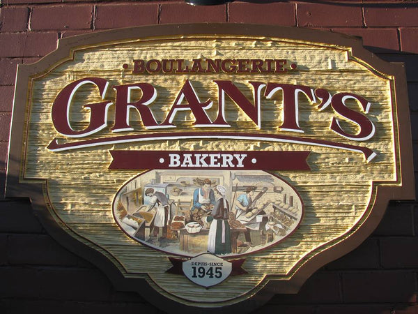 Grant's Bakery sign